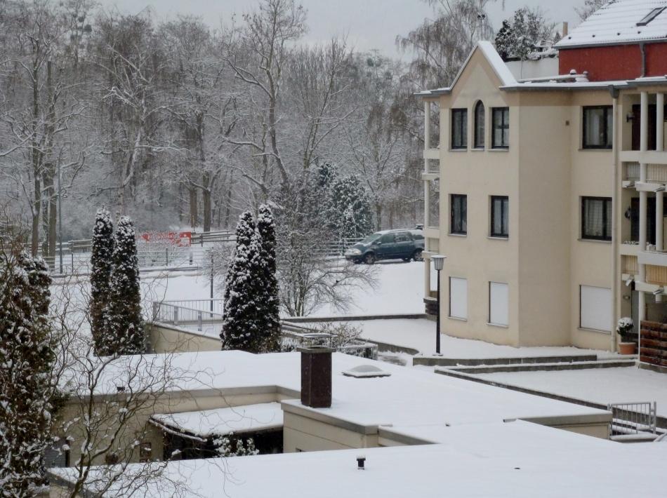 Schnee über Schnee