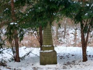 Ein altes Denkmal