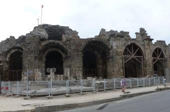 Alte Bauten aus der Römer Zeit