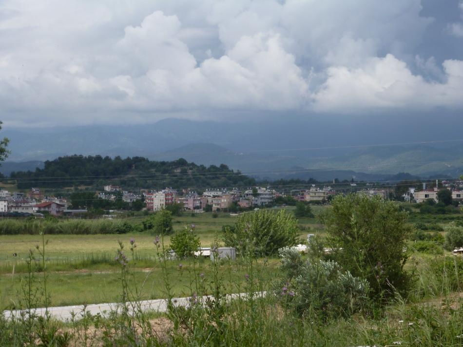 Landschaft von Side