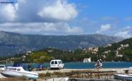 Am Hafen bei Korfu