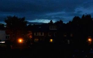 Köln bei Nacht.