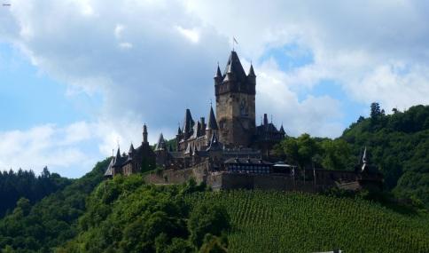 Das ist die Burg Cochem.