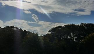 Eine schöne Wolke.