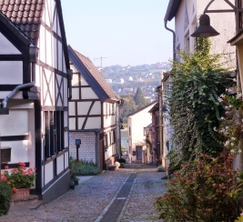 Stadt von Remagen.