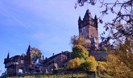 Burg Cochem an der Mosel.