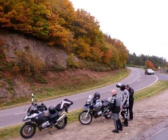 Eine gute Strecke für Motorradfahrer