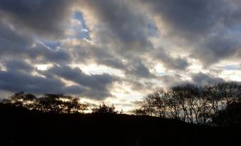 So viele Wolken.
