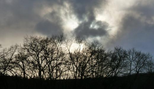 Der Himmel sieht nicht gut aus..