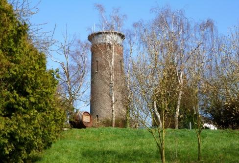 Ein Wasserturm..