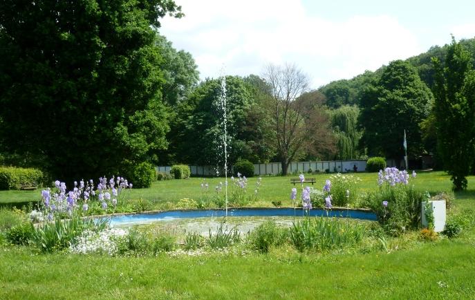 Brunnen im Park